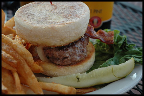 Best of 2008 - Llywelyns Pub Burger