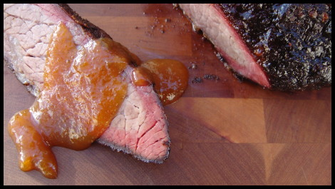 Super Bowl Brisket Final Product