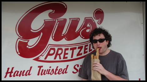 Matt vs Food - Gus' Pretzels
