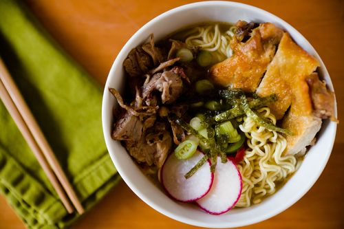 The Ultimate At Home Instant Ramen